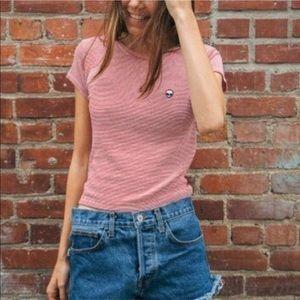 Brandy Melville Alien Patch T-shirt